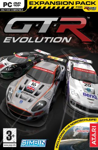 GTR Evolution GTR-Evolution-2008-poster